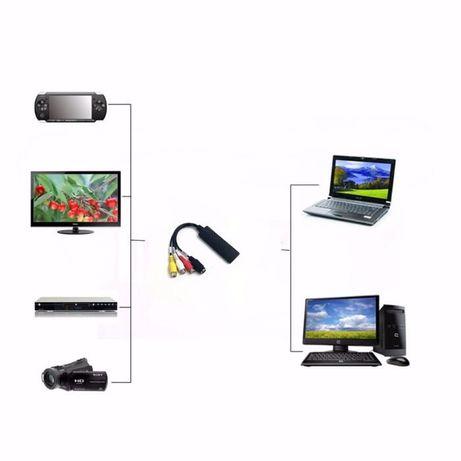карта видео захвата конвертер из RCA(тюльпаны) в USB переходник, звук Кривой Рог - изображение 2