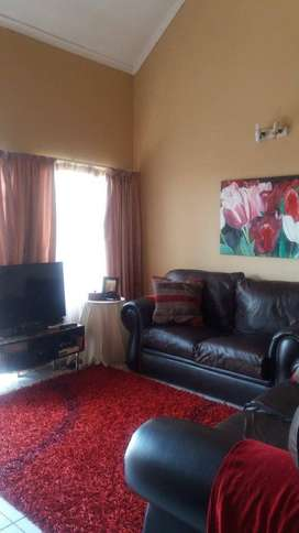 Double storey town house for rent