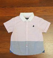 Рубашка на мальчика next 6-9 месяцев