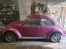 Beetle with spare parts for sale