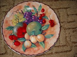 настенная тарелка СССР