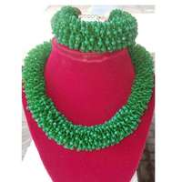 Image of Fur beaded necklace