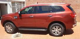 2017 FORD EVEREST TDCI XLT AUTO