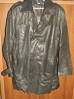 Продаю мужской кожаный удлиненный пиджак-куртку