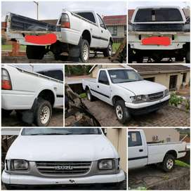 Isuzu KB Stripping and cutting for spares.