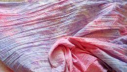 plisowana bawełna nowa