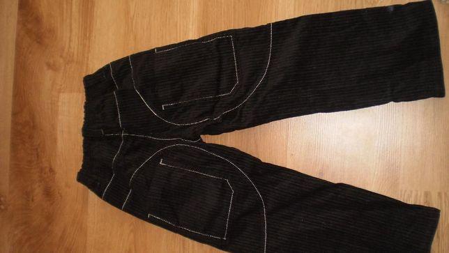 Spodnie sztruks 116 Przasnysz - image 2