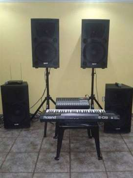 Sound System and projector for Hire