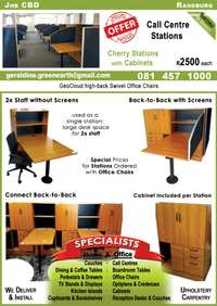 Image of Cherry Call Centre Stations with Cabinets_R2500.