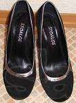Продам женские замшевые туфли
