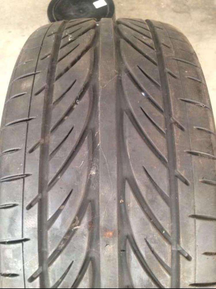 1 x 19 inch hankook tyre for sale. 0