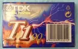 Аудио Кассета TDK T1 90 Normal Position IES I Type1