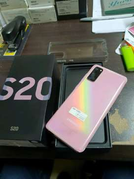 Samsung galaxy s20 pink immaculate