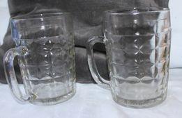 Продам две винтажные кружки для пива, стекло, 0,5 литра(Киев)