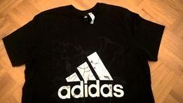 Bardzo fajny Nowy oryginalny t-shirt firmy Adidas L
