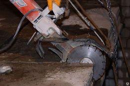 Алмазная резка бетона, алмазна різка, сверління отворів в бетоні