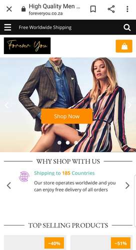 Online Dropshipping Clothing Store