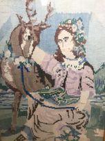 Картина вышиванка вишиванка антиквар