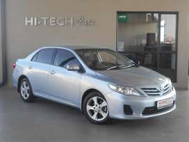 2013 TOYOTA COROLLA 1.6 ADVANCED AUTO WITH 119000KMS