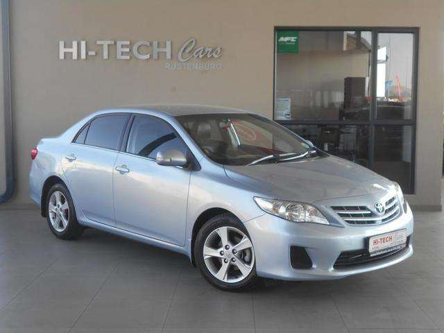 2013 TOYOTA COROLLA 1.6 ADVANCED AUTO WITH 119000KMS 0