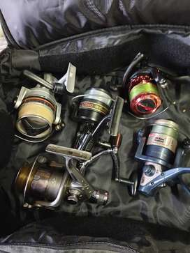 Bargain! 6 Good fishing reels with gud on