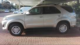 2012 Toyota Fortuner 3.0 D AUTO
