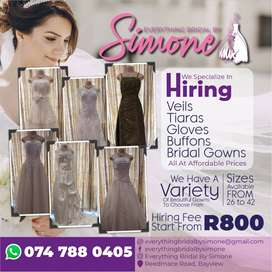 Bridal Gowns for Hire