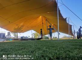 Stretch tents,Pvc pool covers and Blinds