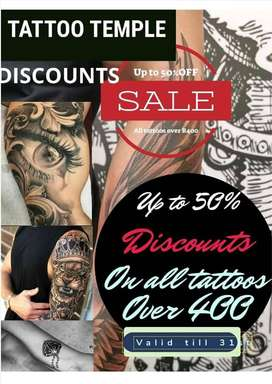 Professional Tattoos Witbank