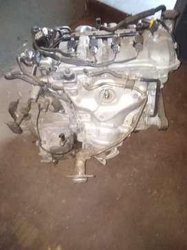 Mazda 2 engine with gearbox,