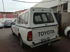 2008 Toyota Hilux 3.0 engine capacity D4D 4x2 single cab with canopy.