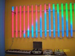 Tuba led pixel RGB 16 Sekcji sterowanie kontroler lub komputer
