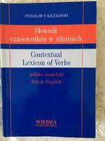 Słownik angielski czasowników w zdaniach