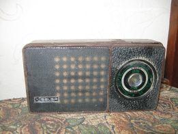 Ретро радиоприемник SELGA