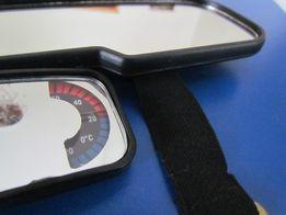 Зеркало заднего вида универсальное с заркалом для салона термометр б/у