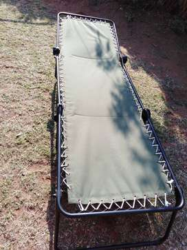 Used Camp Bed
