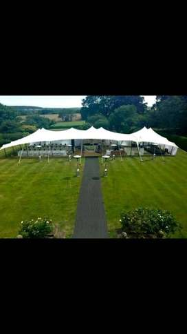 Stretch tent for 100 people for sale.