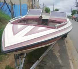 BIG BARGAIN GUYS Boat with 16ft Trailer
