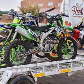 Kawazaki KX450 for sale with extras