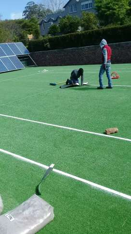 Complete astro turf installations and paving all over in cape town