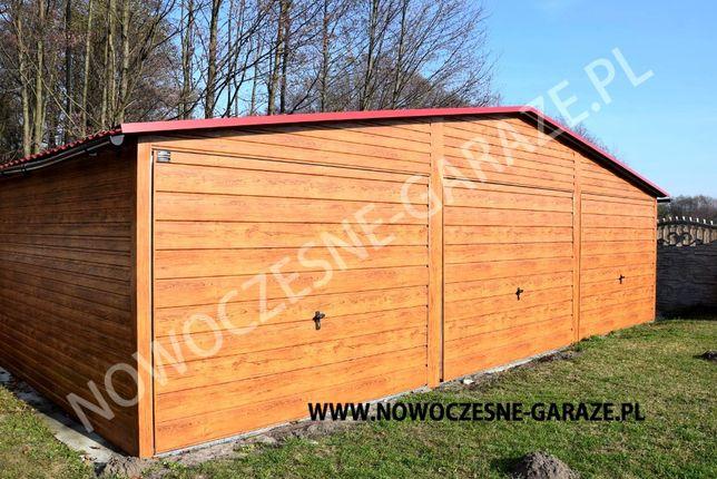 Garaż blaszany drewnopodobny imitacja drewna nowość Wrocław - image 6