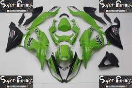Super Fairings Aftermarket Fairing Kits 13-18 KAWASAKI NINJA ZX6R