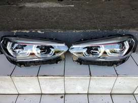 BMW X3 xenon LED headlight both side with ballasts