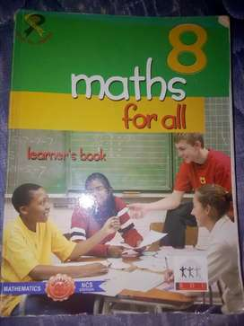 Grade 8 maths learners book