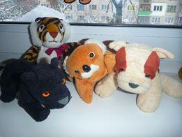 Собачка коала пантера тигр животные мягкие