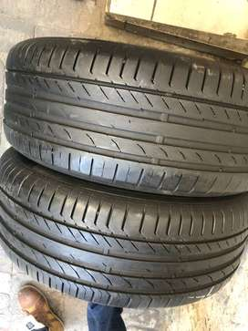 225/50 R17 94W Continental ContiSportContact 5 SSR Run Flat MOE Tyres