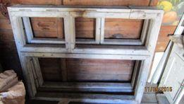 окна деревянные б/у 2шт. цена одного 500 грн.