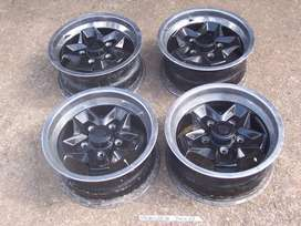 Porsche 15 inch cookie cutter style wheels for sale 9