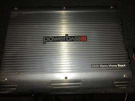 Vehicle Audio Powerbass Amp, Sub + Box, Tweeters, Xover