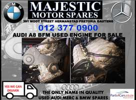 Audi A8 used BFM engine for sale